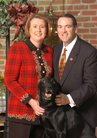 Mike and Janet Huckabee